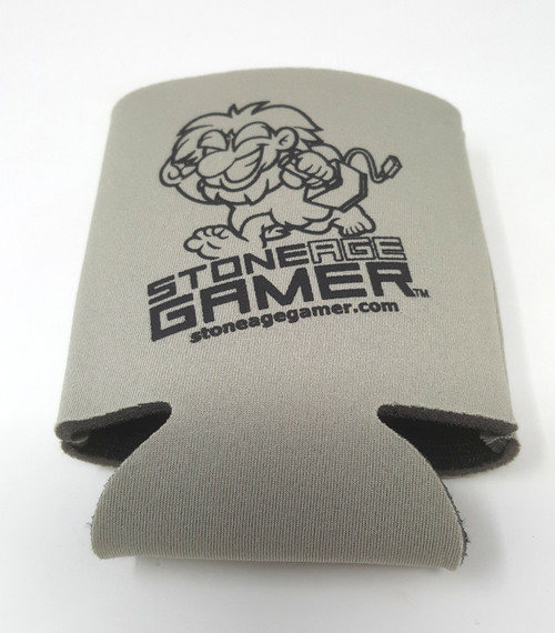 Stone Age Gamer Can Koozie