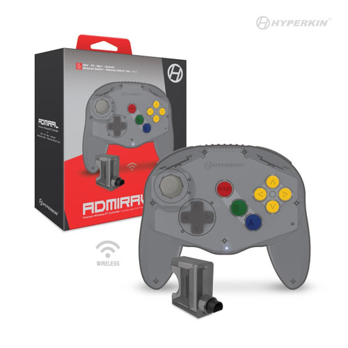 Admiral Premium Bluetooth Controller For Nintendo 64 / Nintendo Switch®/ Nintendo Switch / PC/ Mac / Android - Hyperkin