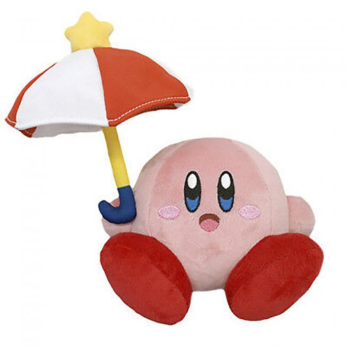 PLUSH Kirby Parasol 2 - 5 inch