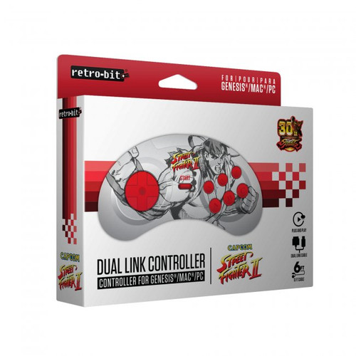 Sega Genesis / PC USB Controller - Ryu (Capcom)