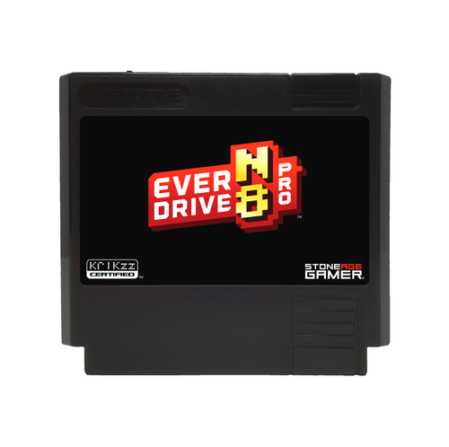 EverDrive-N8 Pro (Base - Black) [Famicom]