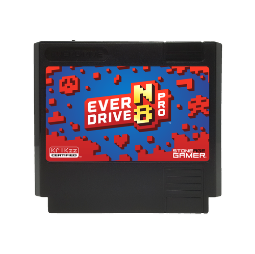 EverDrive-N8 Pro (Jumpman - Black) [Famicom]