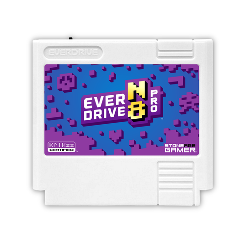 EverDrive-N8 Pro (Monster - White) [Famicom]