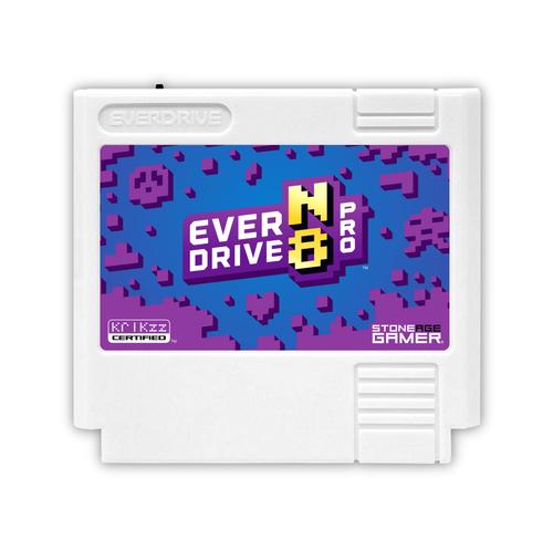 EverDrive-N8 Pro (Monster - White) [Famicom]