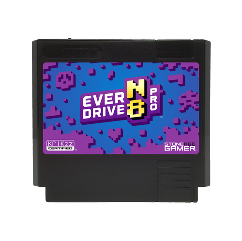 EverDrive-N8 Pro (Monster - Black) [Famicom]