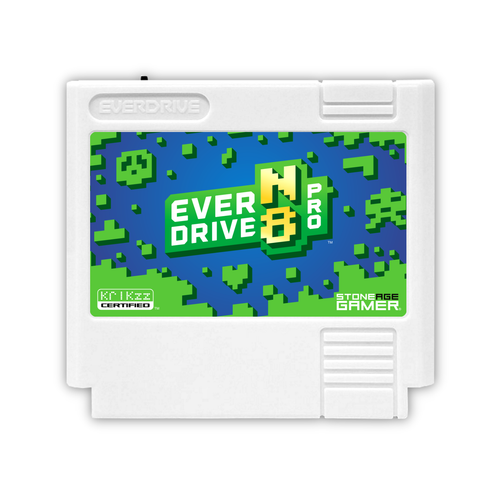 EverDrive-N8 Pro (Azure Jungle - White) [Famicom]