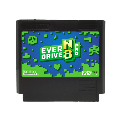 EverDrive-N8 Pro (Azure Jungle - Black) [Famicom]