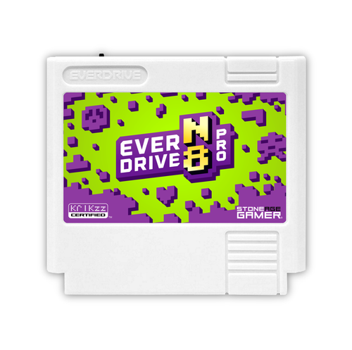 EverDrive-N8 Pro (Corrupted - White) [Famicom]
