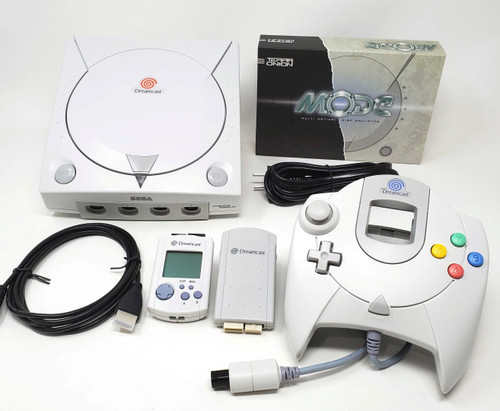 Modified Sega DreamCast Console  - DCDigital (HDMI)  - MODE Bundle DC005