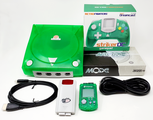 Modified Sega DreamCast Console  - DCDigital (HDMI)  - MODE Bundle DC004