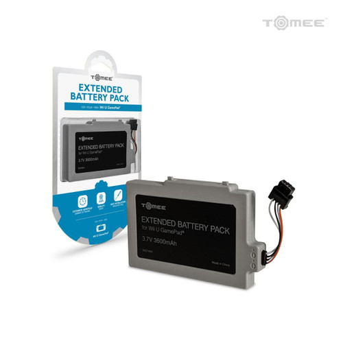 Extended Battery Pack For Wii U GamePad - Tomee