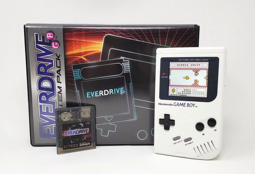 Game Boy EverDrive System Bundle - White