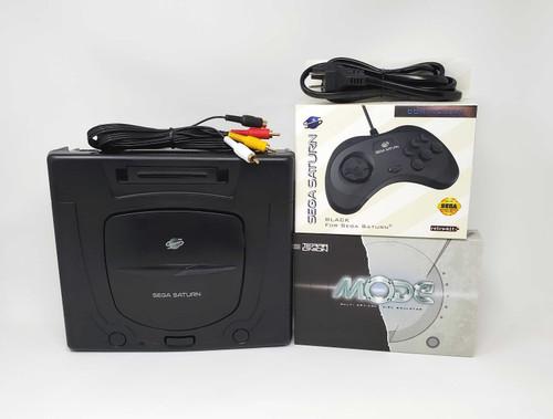 Sega Saturn Pre-Installed MODE Console Bundle  - SAT-003