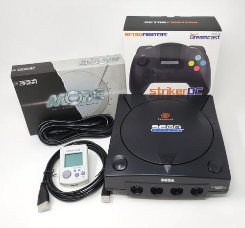 Modified Sega DreamCast Console  - DCDigital (HDMI)  - MODE Bundle DC008