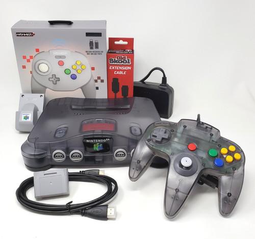 Pixel FX HD Modified Ultimate Smoke Nintendo 64  Region Free Console Bundle N64008