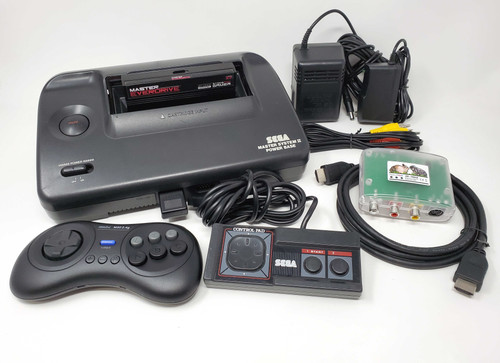 Sega Master System II A/V Modified Console RetroTink EverDrive Bundle SMS001