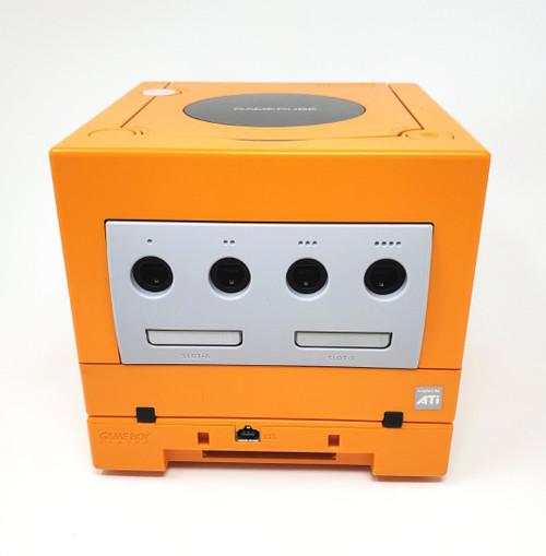 Spice Orange GameCube GC Loader Console Bundle - HD Compatible