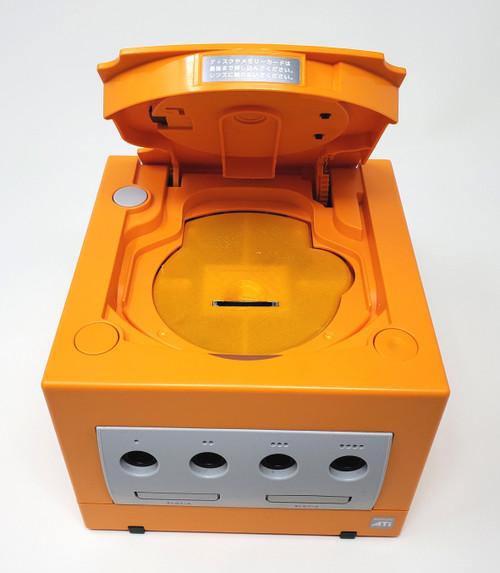 Spice Orange GameCube GC Loader Console Bundle w/ RGB LED's