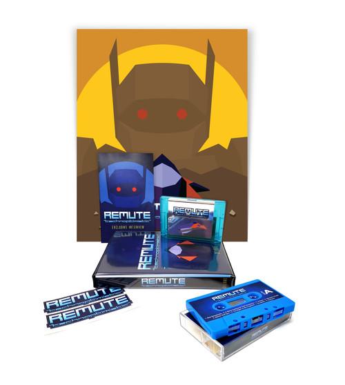 Remute - Technoptimistic [DELUXE EDITION] Sega Genesis/Mega-drive Audio Music Album Cartridge