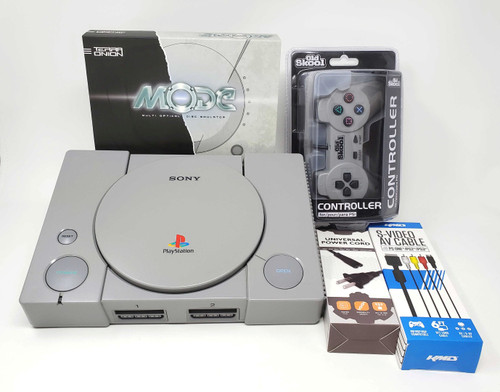 Sony PlayStation Complete Console - MODE + In Game Reset -PSX021