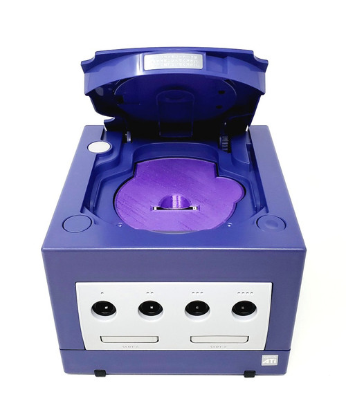 Purple Nintendo GameCube GC Loader Console - HDMI Modified - DOL-033