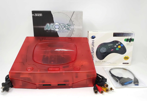 Sega Saturn Pre-Installed MODE Console Bundle  - SAT-012