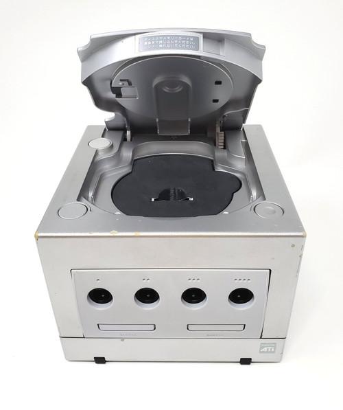 Silver Nintendo GameCube GC Loader Console - HD Modified - DOL-036
