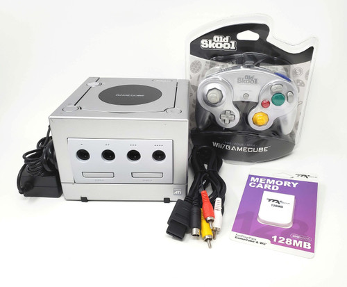 Nintendo GameCube Complete Console - GC Loader + HD Modified - DOL049