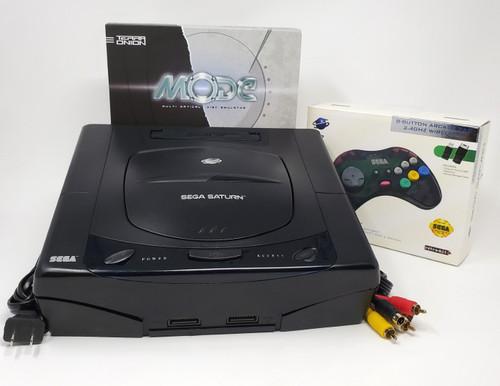 Sega Saturn Pre-Installed MODE M.2 Console Bundle SAT034