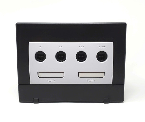 Black Nintendo GameCube GC Loader Console - HD Modified - DOL-039