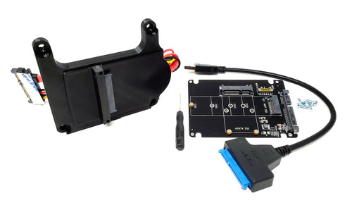 Sega Saturn MODE Easy Access SATA Adapter Mounting Kit with M.2 Support