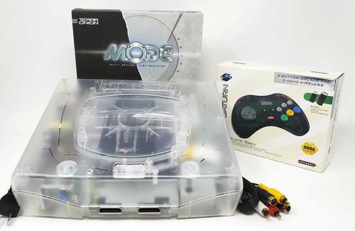 Sega Saturn Pre-Installed MODE M.2 500GB Console Bundle  - SAT-020
