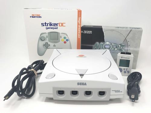 Modified Sega Dreamcast Console  - DCDigital (HD Compatible) - MODE Bundle DC016