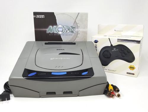 Sega Saturn Pre-Installed MODE M.2 250GB Console Bundle SAT032
