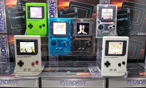 LCD Upgrade Service for Nintendo Game Boy - IPS Backlight Screen