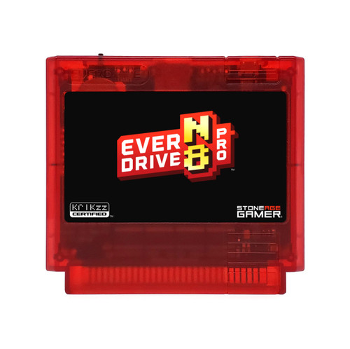 EverDrive-N8 Pro (Base - Red) [Famicom]