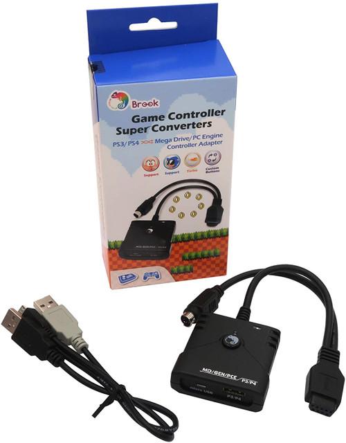 Brook PS3/PS4 to Genesis / MegaDrive / PC Engine / PC Super Converter