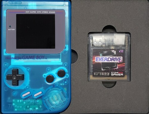 """Game Boy """"Ready to Play"""" EverDrive System Bundle"""
