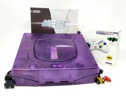 Sega Saturn Pre-Installed MODE M.2 Console Bundle  - SAT-037