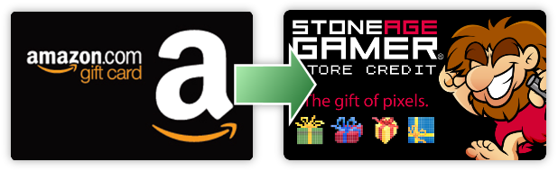 Stone Age Gamer Amazon Gift Card Exchange