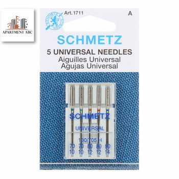 Schmetz Assorted 70-90 Universal Sewing Machine Needles
