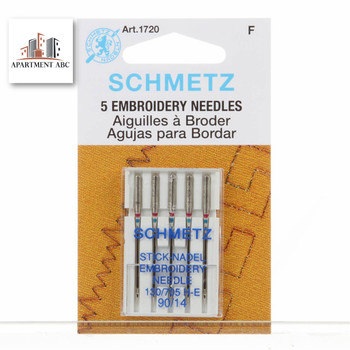 Schmetz Embroidery Needles Size 90/14 #1720