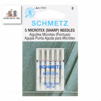 Schmetz Microtex Needles Size 90/14 #1731