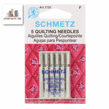 Schmetz Quilting Needles Size 75/11 #1735