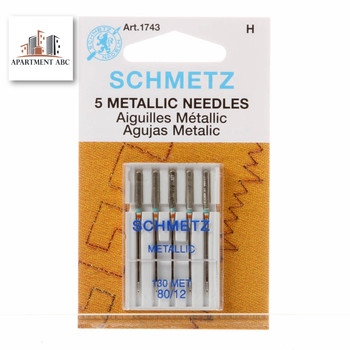 Schmetz Metallic Needles Size 80/12 #1743