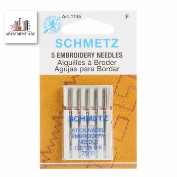 Schmetz Embroidery Needles Size 75/11 #1745