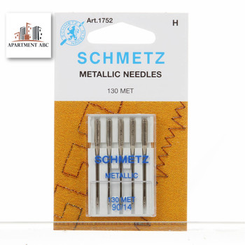 Schmetz Metallic Needles Size 90/14 #1752