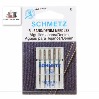 Schmetz Jeans Needles Size 90/14 #1782