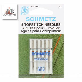 Schmetz Topstitch Needles Size 80/12 #1792