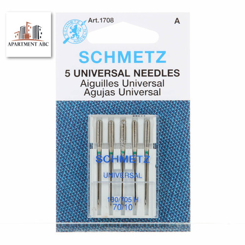 Schmetz 70/10 Universal Sewing Machine Needles 5pcs